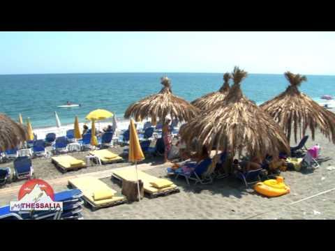 Velika beach of Larissa, Greece