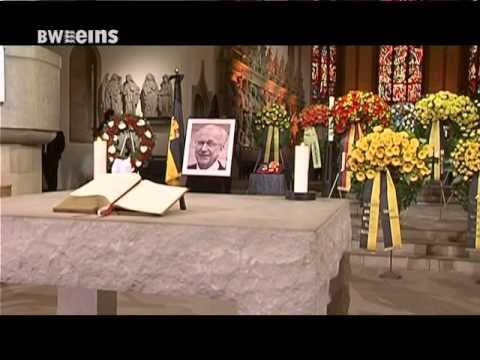 Trauerfeier Fur Lothar Spath Youtube
