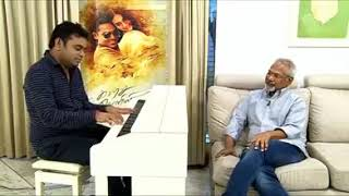 A R Rahman plays Chinna Chinna Aasai in Piano for Mani Ratnam