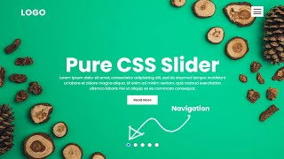 Create an Image Slider using Html & CSS only   Responsive Website Design