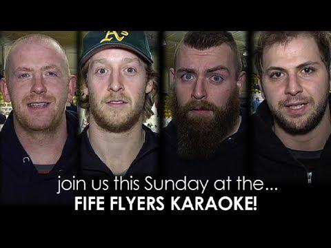 Fife Flyers Karaoke promo