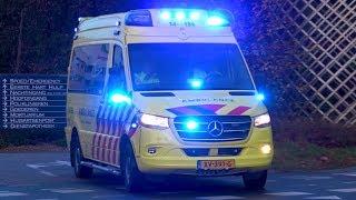 [2x Luchthoorn][04.11.2019] A1, Ambulances in Blaricum