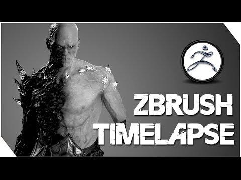 ARTWAR 2 Challenge - The Fallen Angel - Timelapse (Zbrush)