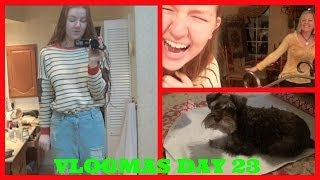 vlogmas day 23 christmas gift tragedy what i m giving my mom s dance