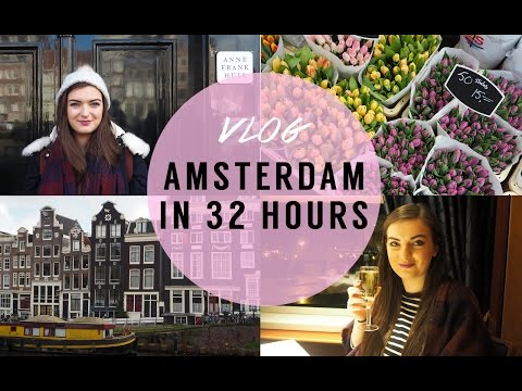 Amsterdam in 32 Hours VLOG | Rachel Nicole