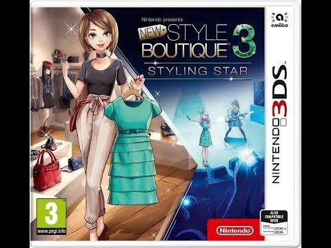 Nouvelle Maison du Style 3 - Looks de Stars . opening 3DS [New Style Boutique 3: / Girls Mode 4]