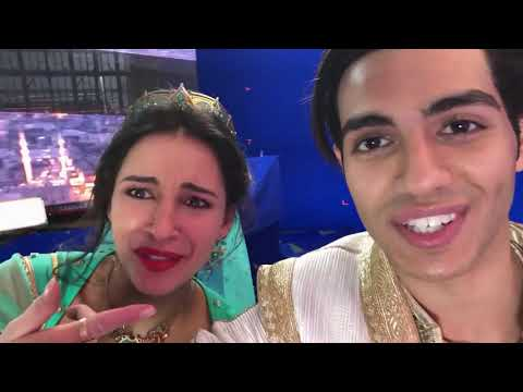 Aladdin 2019 | Filming A Whole New World | Disney Arabia