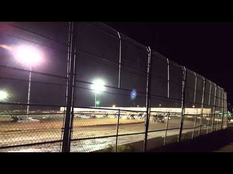 8/15/15 Canyon Speedway Park 1st lap wreck!