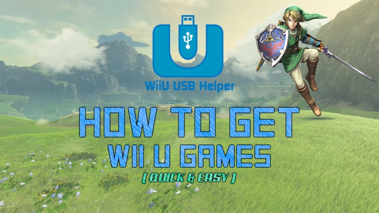 How to get Wii U Games, Updates & DLC by FailedShack