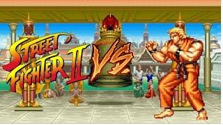 Street Fighter Deluxe Vs 1 ryo