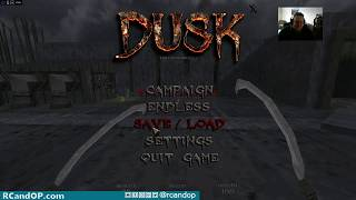 RC plays Early Access game DUSK on Twitch