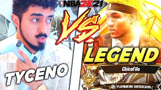 TYCENO vs LEGEND CHICOFILO for $1000 - WAGER OF THE YEAR (NBA 2K21)