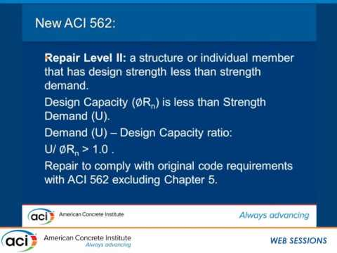 Chapter 1—The ACI 562 Code