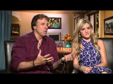 Blended: Kevin Nealon & Jessica Lowe Official Junket Movie Interview