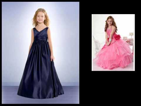 622bde114db7 Flower Girl Dress For Less. Special Event Girl Dresses - YouTube