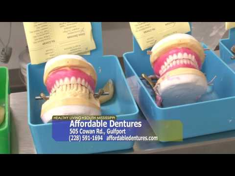 Healthy Living South Mississippi - Affordable Dentures