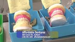 Healthy Living South Mississippi - Affordable Dentures