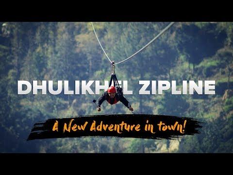Dhulikhel Zipline - A New Adventure in Kathmandu Valley