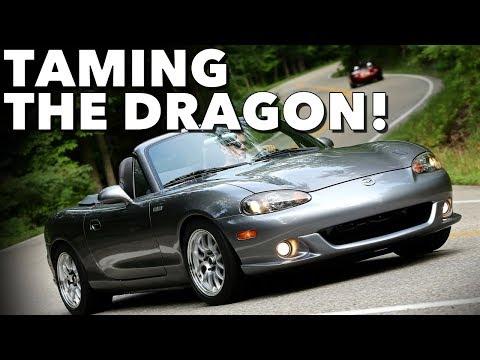 LS3 Miata Visits The Tail of The Dragon & Miatas At The Gap!