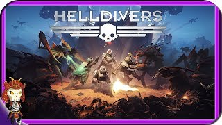 HELLDIVERS | Hardcore Co-op Shooter Twinstick Game |