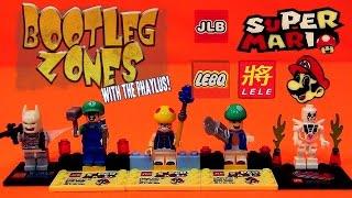 Bootleg Zones: Super Mario and Batman Lego