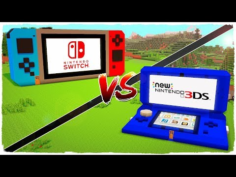 👉 Casa de NINTENDO SWITCH vs casa de NINTENDO 3DS - MINECRAFT