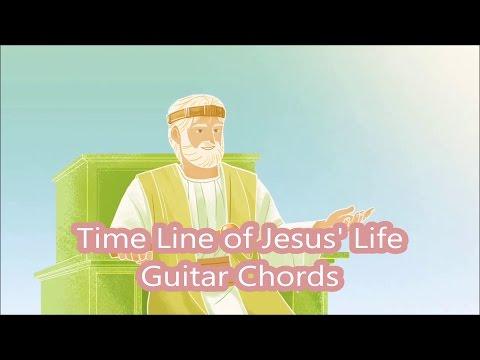 Time Line of Jesus Life - Guitar Chords - JW Broadcasting