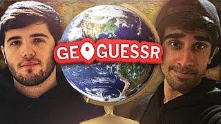 GEOGUESSR #1 with Vikkstar & Josh (GeoGuessr Challenge)
