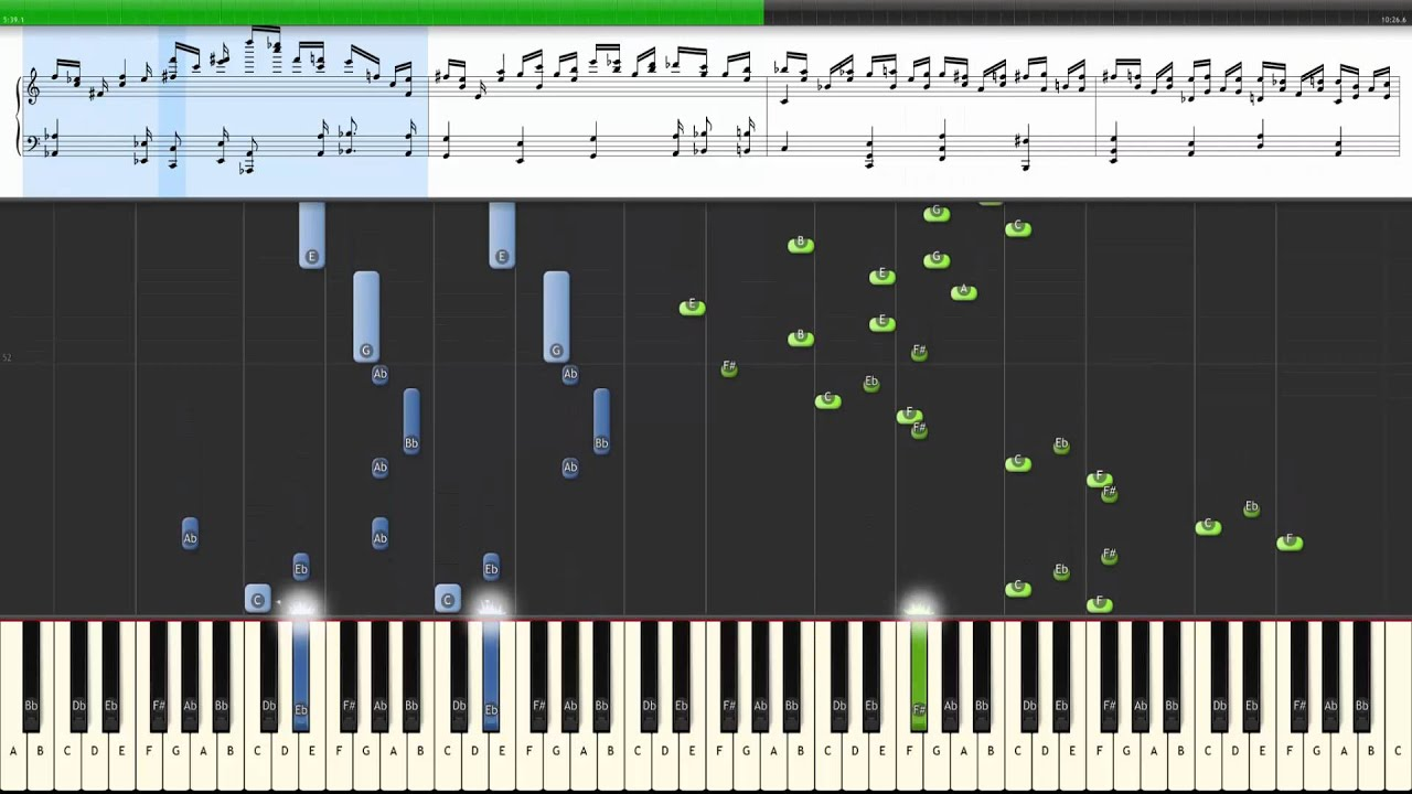 How to play Chopin Etude Op  25 No 11 (Winterwind) - Piano Tutorial -  Synthesia