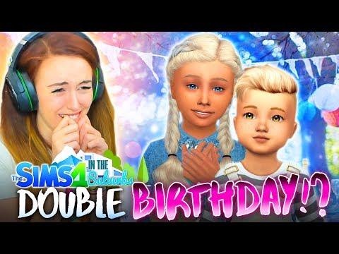 🎁SUMMER &  SEB BIRTHDAYS! 🎁 (The Sims 4 IN THE SUBURBS #37! 🏘)