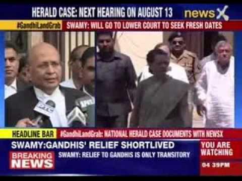 Relief for Gandhis in National Herald case