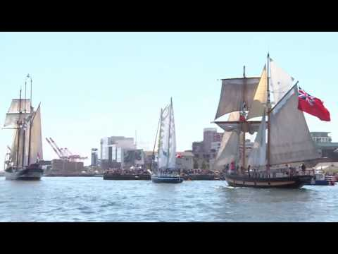 Tall Ships 2017: Parade of Sail Highlights