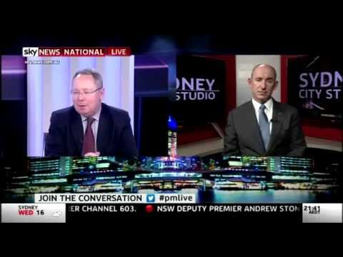 Sky News Paul Murray Live - ADF Pay Rise - 15/10/2014