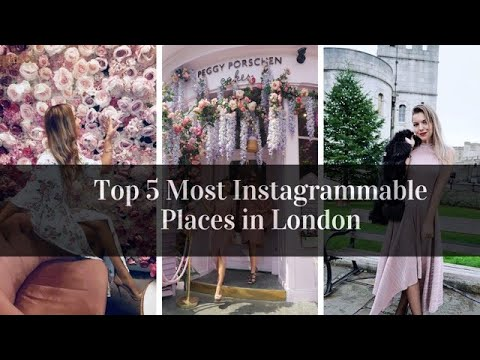 LONDON'S TOP 5 INSTAGRAMMABLE LOCATIONS - the best places for taking those instagram worthy shots!