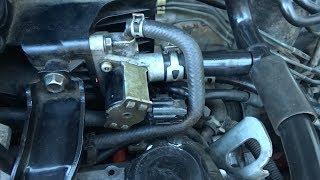 Замена клапана холостого хода на Mazda Demio