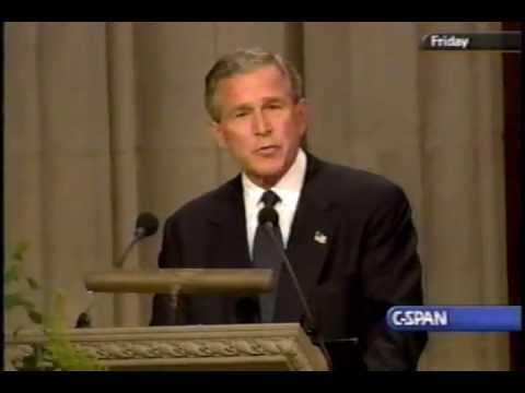 Funeral of Ronald Reagan, 2004-06-11 Part 10 (George W Bush)