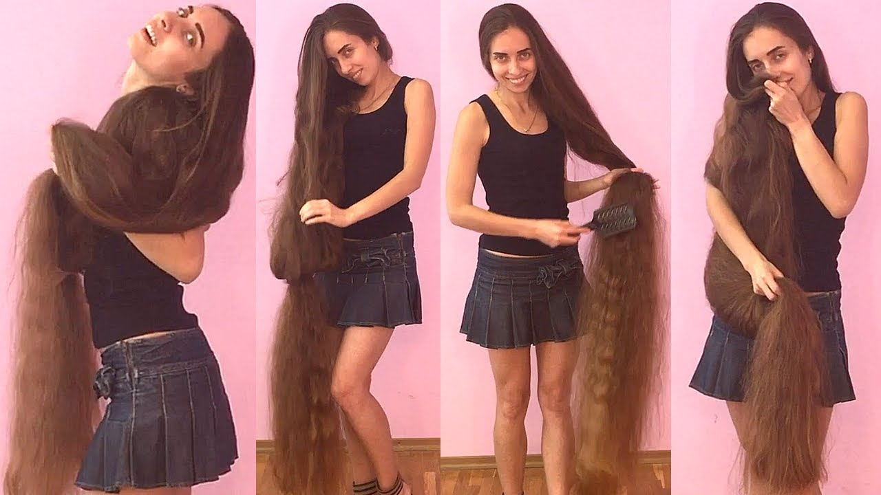 RealRapunzels Super Long Hair Smelling And Hair Play