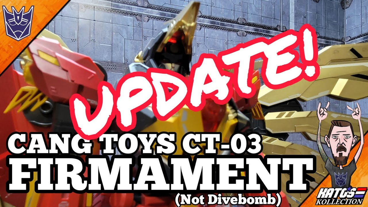 Cang Toys Firmament (Divebomb) Review UPDATE By Kato's Kollection