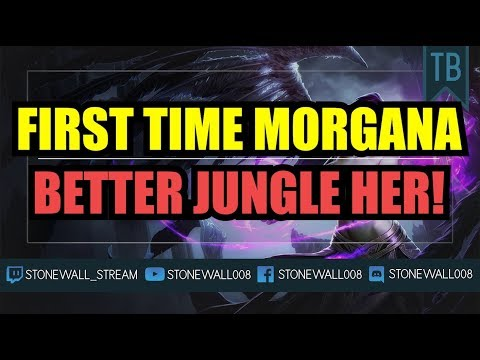 First Time Morgana - Better Jungle Her!