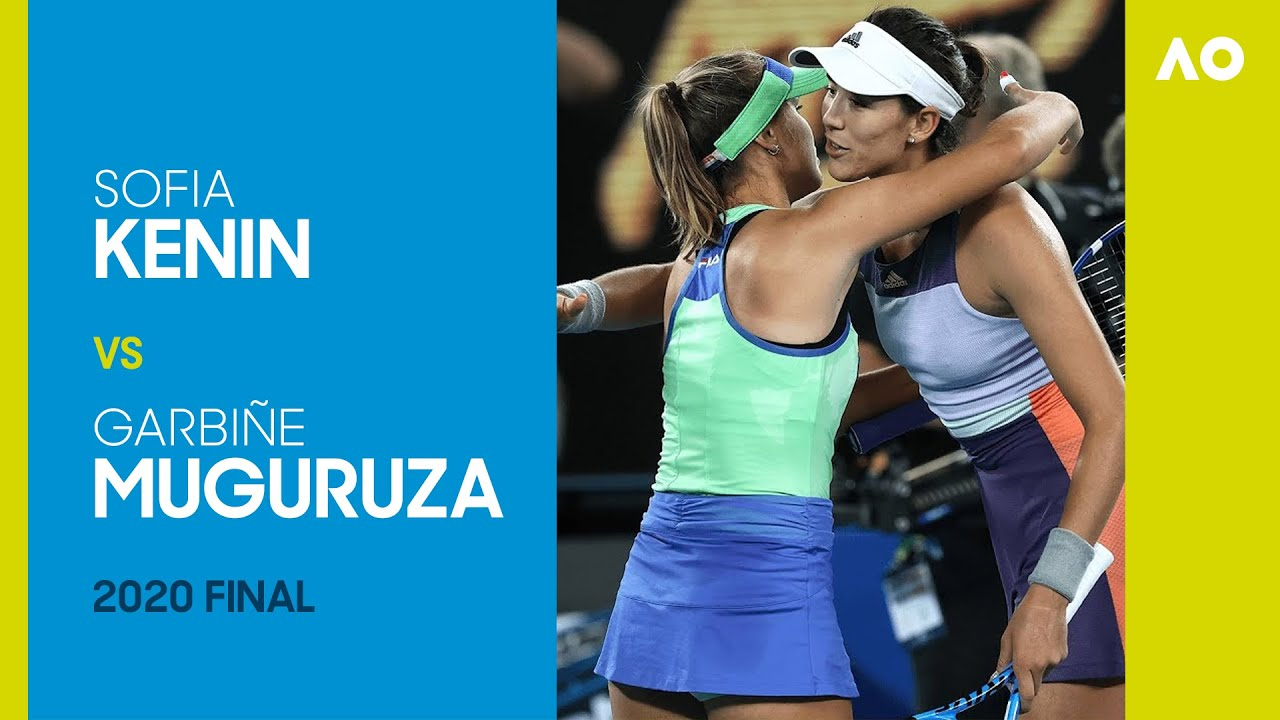 Sofia Kenin vs Garbiñe Muguruza Full Match | Australian Open 2020 Final