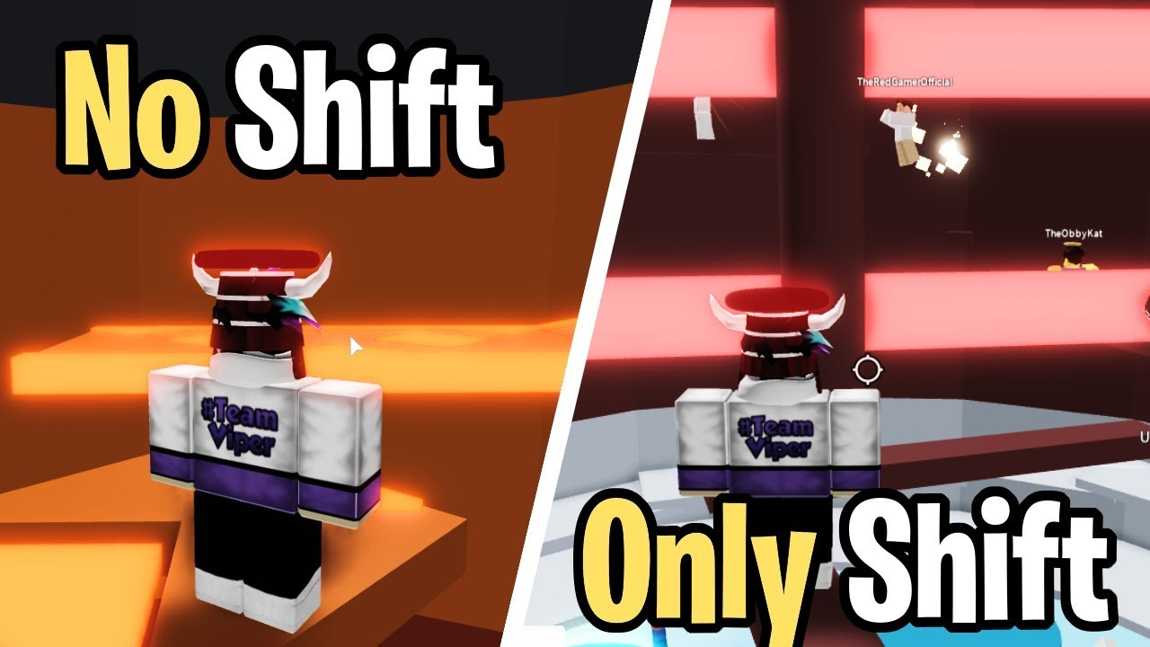 Tower Of Hell Shift Lock Challenge Tower Of Hell Roblox Youtube