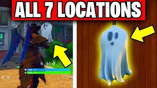 ''Destroy a Ghost Decoration in different Named Locations'' ALL LOCATIONS (Fortnitemares Challenges)