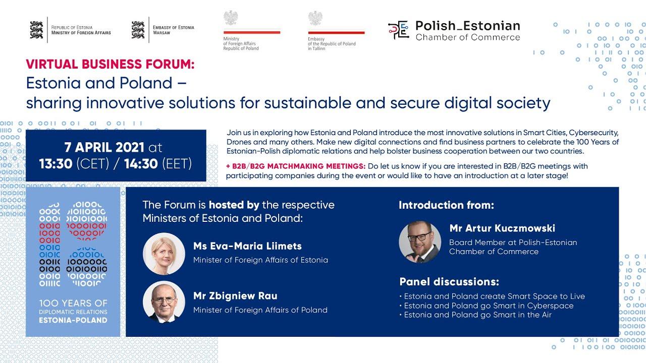 Virtual Business Forum: Estonia and Poland
