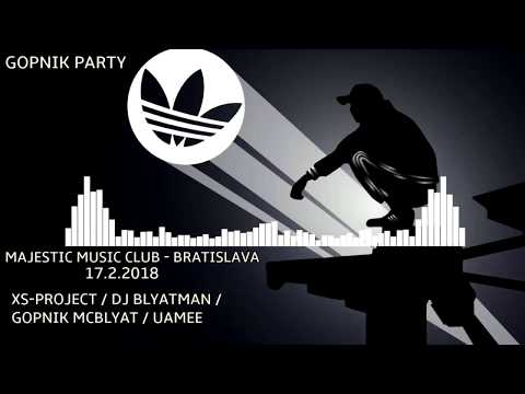 XS Project invite to GOPNIK PARTY - Bratislava 17.02.2018