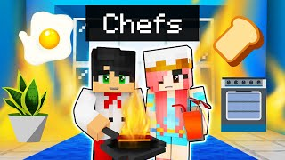 Playing as CHEFS in Minecraft!