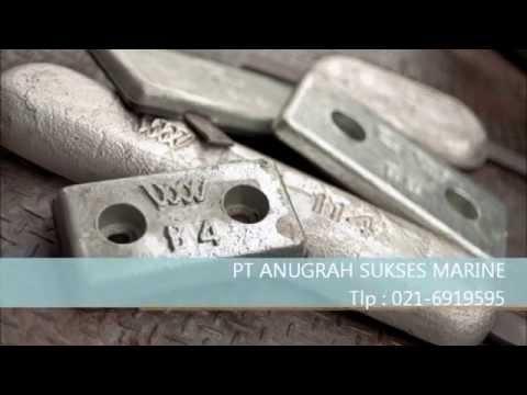 Zinc Anode Aluminium Anode | PT Anugrah Sukses Marine
