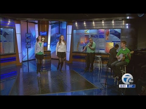 Irish music legend comes to Action News This Morning