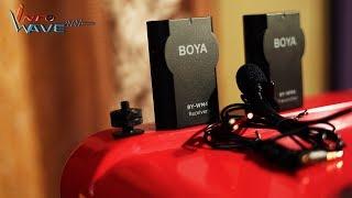 BOYA BY-WM4 Wireless Microphone Unboxing | InfoWave