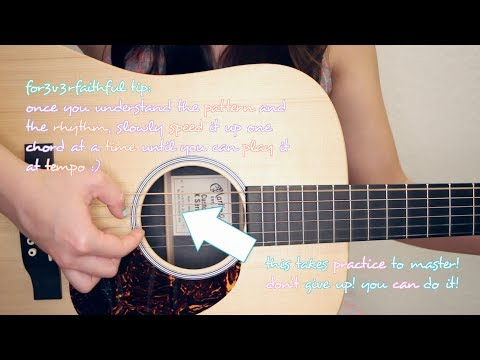 """All Of Me"" - John Legend EASY Guitar Tutorial [Chords/Strumming/Picking/Cover]"