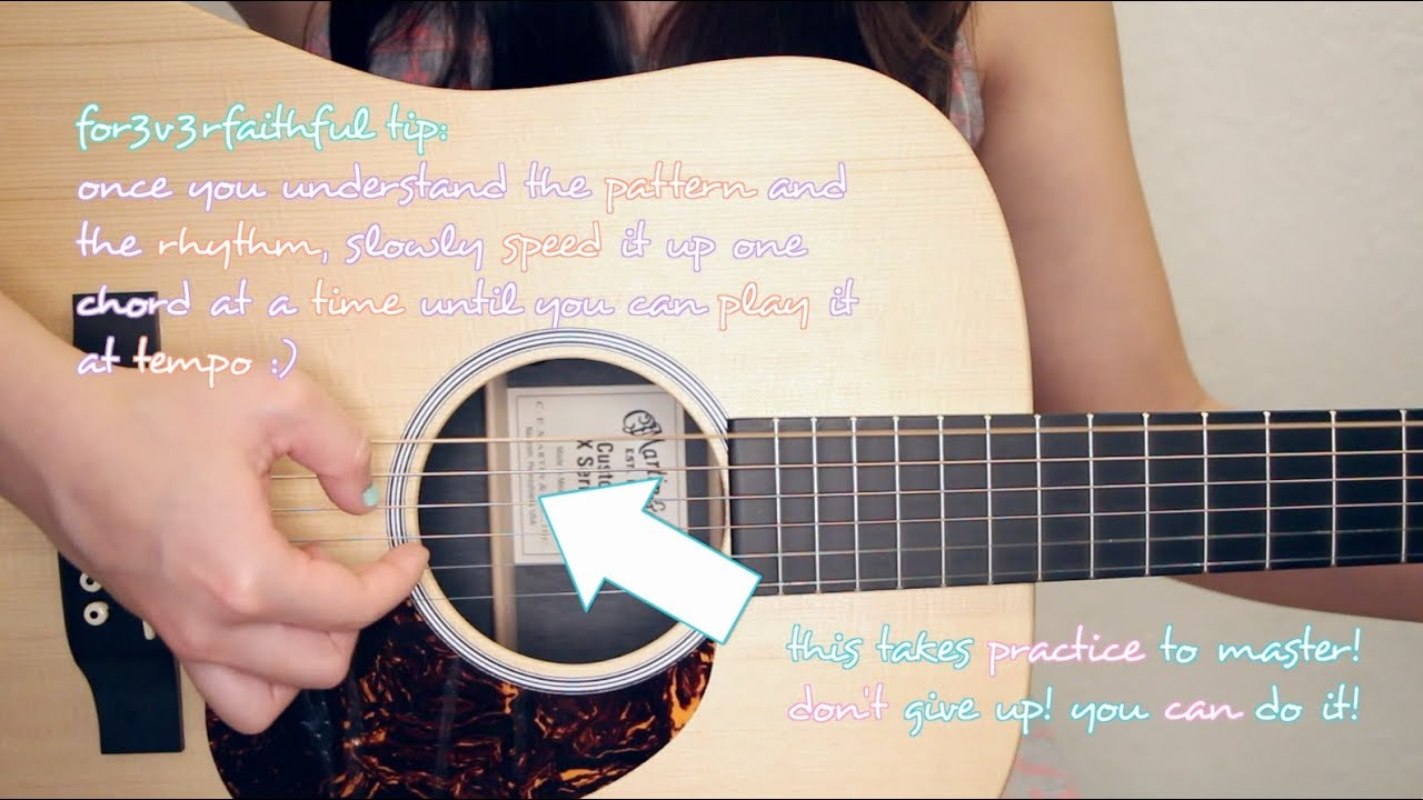"All of Me"" - John Legend EASY Guitar Tutorial/Chords & GIVEAWAY ..."